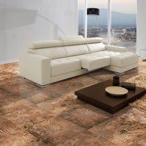 Piastrella per pavimento / in ceramica / a motivi / lucida