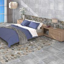 Piastrella per pavimento / a muro / in ceramica / motivi geometrici