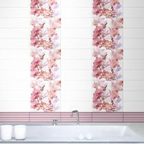 Piastrella da bagno / a muro / in ceramica / a fiori