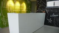 Banco reception in Corian®