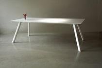 Tavolo moderno / in Corian® / per edifici pubblici