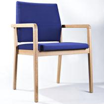 Sedia visitatore moderna / collegabile / impilabile / imbottita