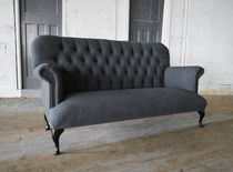 Divano chesterfield / in lana / 2 posti / 3 posti