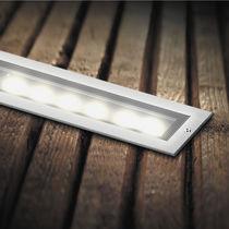 Luce ad incasso / LED / lineare / rettangolare