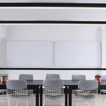 Profilo luminoso a soffitto / LED / sistema d'illuminazione modulare / dimmerabile