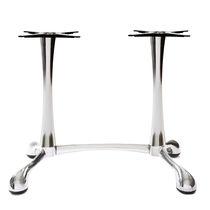 Piede da tavolo in ghisa / moderno / per tavolo alto / doppio