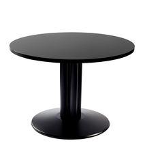 Tavolo da bistrot moderno / in metallo / circolare / da esterno