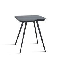 Tavolo d'appoggio moderno / in MDF / in frassino