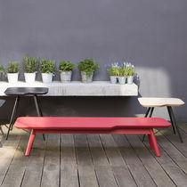 Tavolino basso moderno / in MDF / in faggio / in frassino