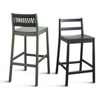 Sedia moderna / in tessuto / in faggio / in legno compensato