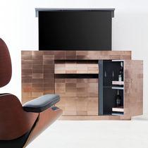 Mobile TV moderno / su misura / per camera d'hotel / minibar