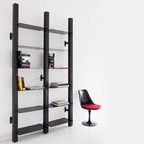 Libreria a muro / moderna / professionale / in metallo laccato
