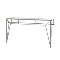 Consolle classica / in vetro / in ferro / in ferro modellato