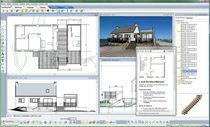 Software CAD / di architettura / per struttura in calcestruzzo / 3D