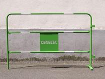 Barriera di protezione / in acciaio / per cantiere