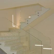 Profilo luminoso da incasso / LED RGB / modulare