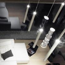 Lampada a sospensione / moderna / in alluminio / in policarbonato