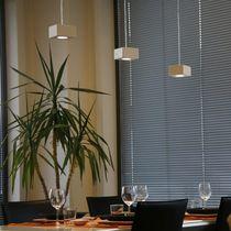 Lampada a sospensione / moderna / in policarbonato / da interno