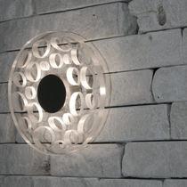 Applique design originale / in acciaio inossidabile / in policarbonato / LED