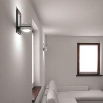 Applique moderna / da esterno / legno / LED