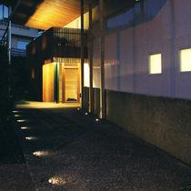 Luce da incasso a pavimento / LED / rotonda / da esterno