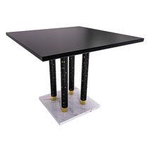 Tavolo moderno / in marmo / quadrato / per uso contract