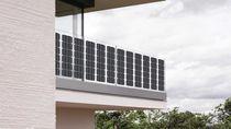 Pannello fotovoltaico monocristallino / flessibile / per l'integrazione totale / per balcone