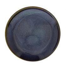 Piatto piatto / rotondo / in porcellana / blu