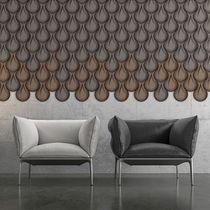 Rivestimento murale in sughero naturale / per uso residenziale / 3D
