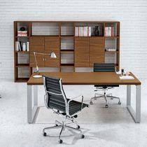 Libreria moderna / professionale / in legno / in melamminico