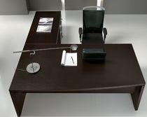 Scrivania direzionale / in legno / in metallo / in melamminico