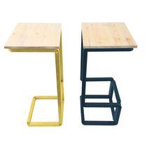 Sgabello moderno / in legno / in acciaio / professionale