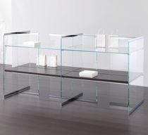 Espositore multiuso / in legno / in vetro / professionale