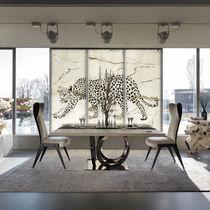 Pannello decorativo in vetro / in marmo / da parete / retroilluminato