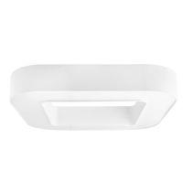 Luce LED / a lampada fluorescente / rettangolare / in acciaio