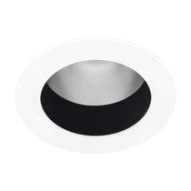 Downlight da incasso a soffitto / LED / rotondo / in acciaio