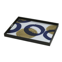 Vassoio in legno / in vetro / per uso residenziale