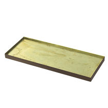 Vassoio in metallo / in vetro / per uso residenziale