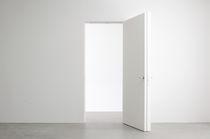 Porta interna / battente / in legno / in alluminio
