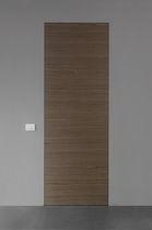 Porta interna / battente / in legno / di sicurezza