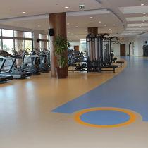Pavimentazione sportiva in vinile / per interni / per sale polivalenti