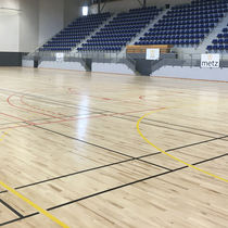 Pavimentazione sportiva in acero / per interni / per sale polivalenti