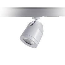 Faretti a binario LED / rotonda / in ghisa di alluminio / professionale