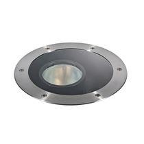 Luce da incasso a pavimento / LED RGBW / rotonda / da esterno