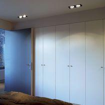 Faretto da incasso a soffitto / da interno / LED / rettangolare
