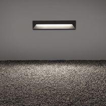 Luce da incasso a muro / LED / quadrata / lineare