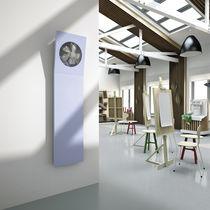 Radiatore ad acqua calda / in lamiera d'acciaio / moderno / da parete