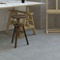 Piastrella da interno / per pavimento / in gres porcellanato / aspetto cemento