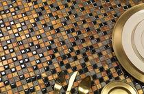 Piastrella aspetto mosaico / da interno / da parete / in gres porcellanato