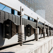 Sistema di fissaggio in acciaio inox / per facciata continua / per rivestimento di facciata / per muro